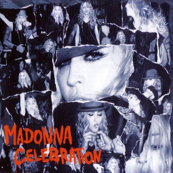Madonna – Celebration (single cover art)