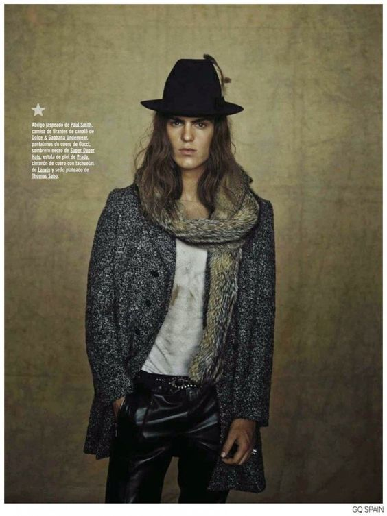 Travis Smith Stars in Cherokee Nation for GQ Spain image Travis Smith GQ Spain Fashion Editorial 006 800x1069