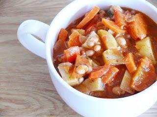 Bohnen-Gemüse-Eintopf (oder Suppe ;-)) | Vegane Küche - vegan kochen ist nicht schwer