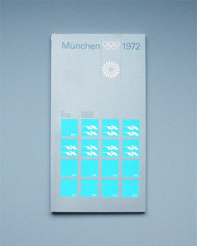 Munich 1972 Olympics Regulations Shooting - Otl Aicher & Rolf Müller