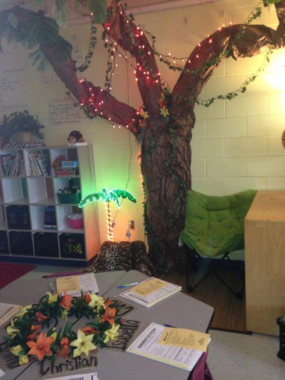 Classroom Decoration Jungle : Jungle classroom decor safari