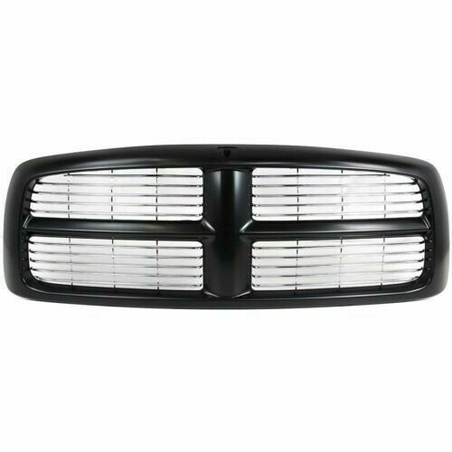 Details About New Grille Black Painted Frame Front For Dodge Ram 1500 2002 2005 Ch1200259 In 2020 Dodge Ram 1500 Ram 1500 Painting Frames