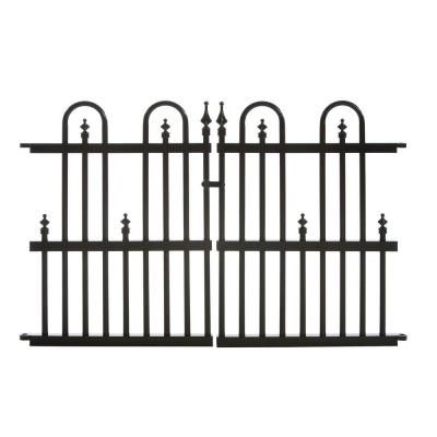 Aluminum Fence Garden Gates And Home Depot On Pinterest
