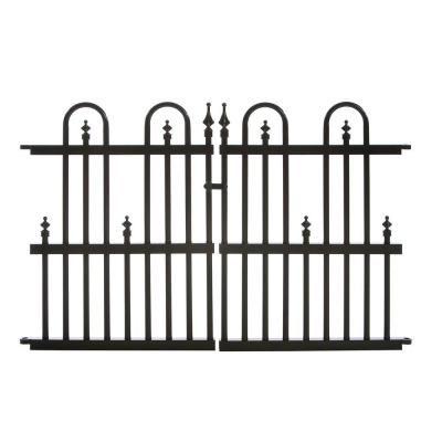 Aluminum Fence Garden Gates And Home Depot On Pinterest