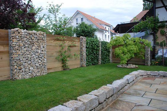 Sandstein Gartenmauer-Blumenbeete Garten Pinterest Sandstein