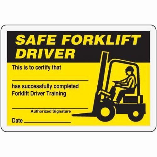 Forklift Operator Certificate Template Beautiful Forklift Certification Template Automotoreadfo Dannybarrant Forklift Training Forklift Card Templates Free