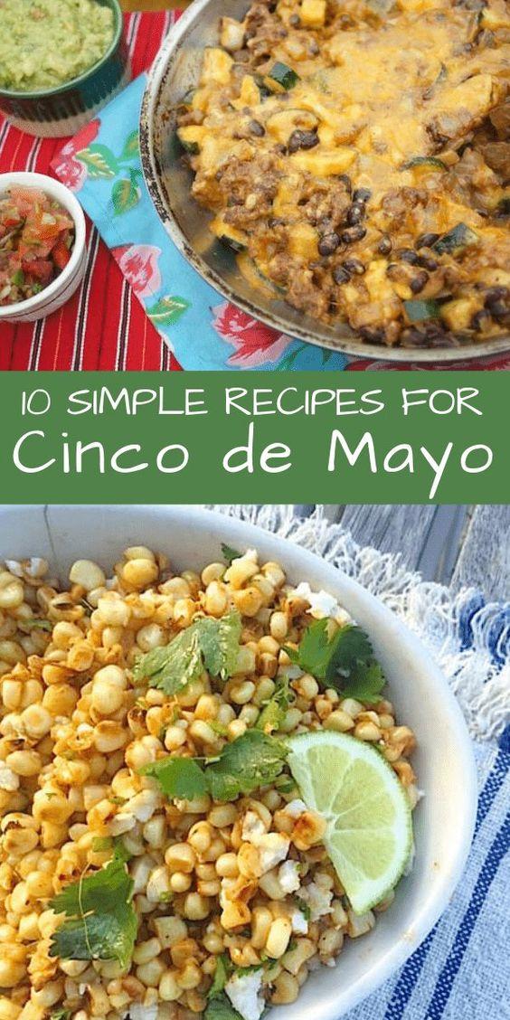10 Simple Cinco de Mayo Recipes - Mom's Kitchen Handbook