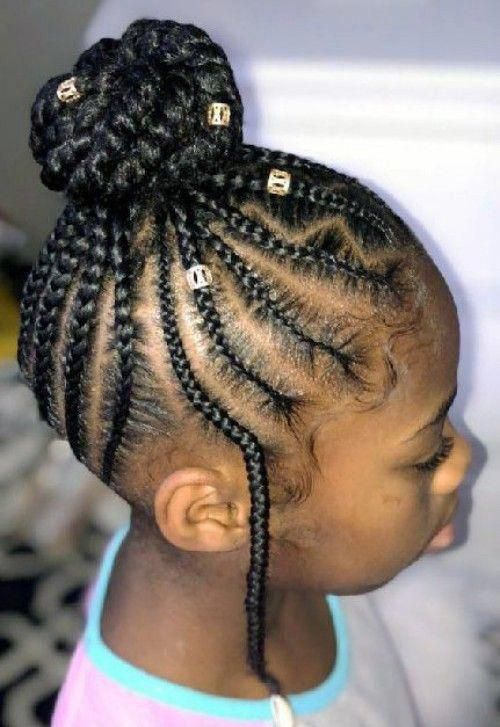 Top Braids With Beads Hairstyles For Adorable Toddlers New