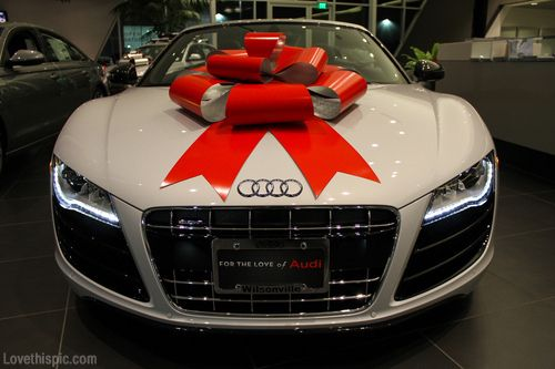 Audi Gift Cars Car Car Photos Car Luxury Amazing Cars