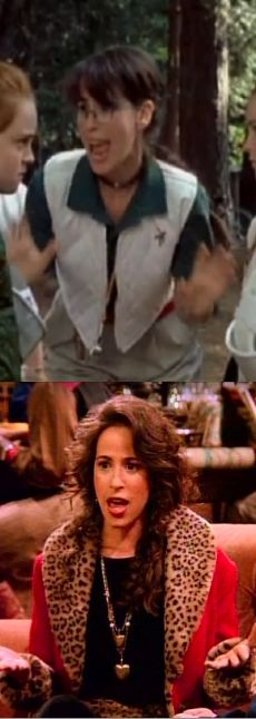 The camp counselor from The Parent Trap is also Janice from Friends! What?!