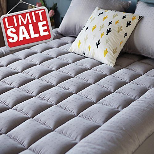 Mattress Pad Cover Queen Size Cooling Mattress Topper With