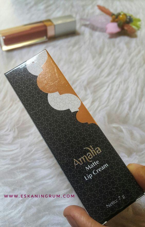 packaging mewah kosmetik halal amalia