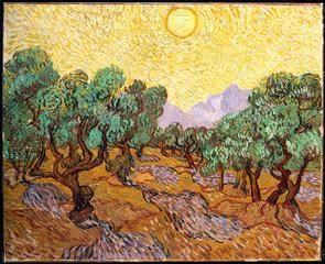 Van Gogh, Olive Trees, 1889
