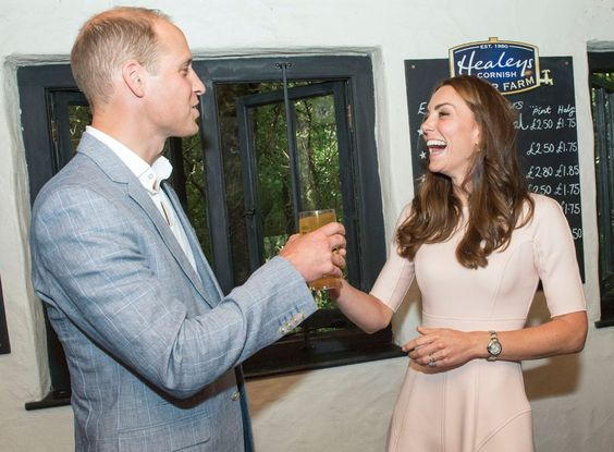 Kate Middleton Doesn't Wait For Happy Hour to Down Some Whiskey With Prince…