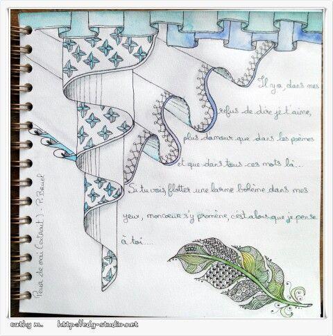 Positiv'journal - edg-studio.net - doodling, Zentangles