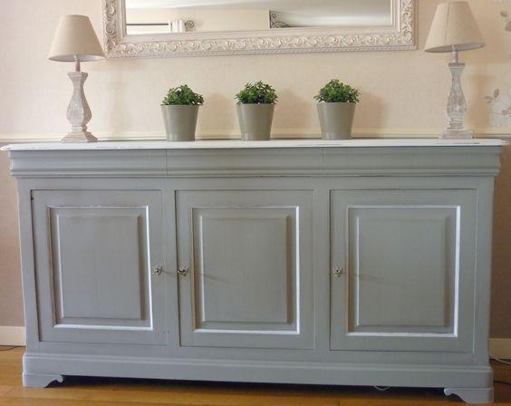 Relooking meuble louis philippe avant apres cultura pour mes armoires - Relooking vieux meubles ...