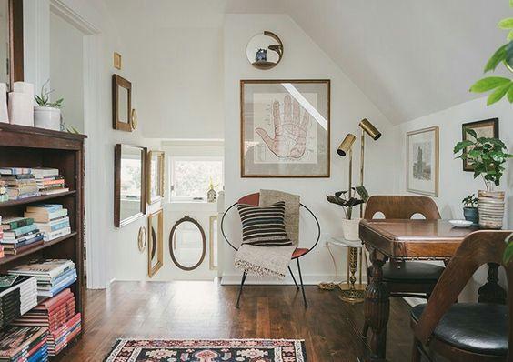 Michele and Ryan Tanseys home on Design Sponge