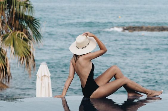 Emma Hill wears our Codie Swimsuit