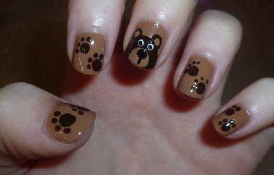 Colorful Print Nail Ideas #paint #nails