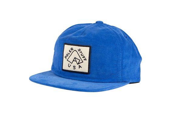 GRAMPA CORDY SNAPBACK - BLUE SPRING '16 #poler #polerstuff #campvibes