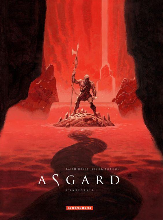 Asgard, l'intégrale par Xavier Dorison  et Ralph Meyer. Sortie le 07 novembre 2014. #Dargaud #BD