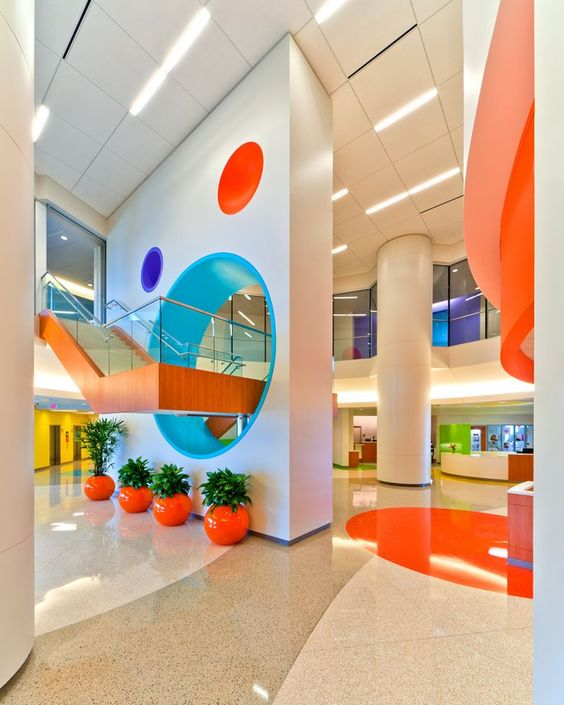 """PageSutherlandPage's design for the Texas Children's Hospital is among the projects featured in """"Houston Interior Designers: How Texans Touched the World."""" Photo: Geoff Lyon, G. Lyon Photography, Owner / President / Copyright 2010 G. LYON PHOTOGRAPHY, Inc."""