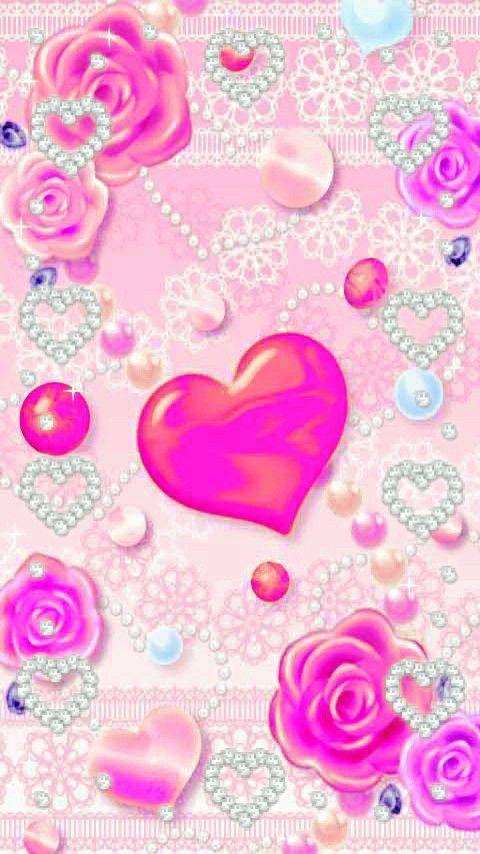 Pin By Anna Stevove On Tapety Heart Wallpaper Galaxy Wallpaper Love Wallpaper Clay love wallpaper image on paper