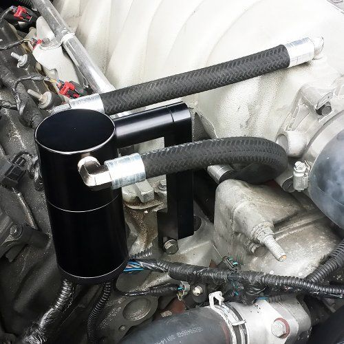 UPR #2009-2014 Dodge Ram 5.7L Billet Oil Catch Can Z Mount Black $144.99