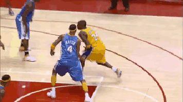 Kobe Bryant fake and turnaround gif