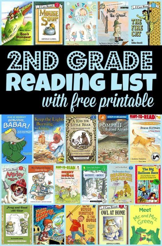 BEST 2nd Grade Reading List 2nd Grade Reading, 2nd Grade, Reading List  Printable