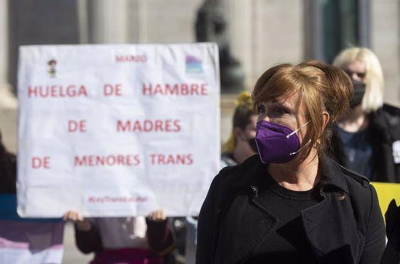 La presidenta de la Federación Plataforma Trans, Mar Cambrollé. En Madrid, a 10 de marzo de 2021 — Alberto Ortega / EUROPA PRESS