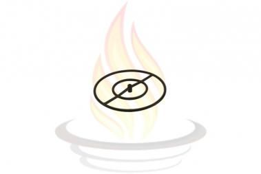 """18"""" Round Black Iron Gas Fire Pit Burner Ring. to fix our fire pit ..."""