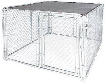 Special Offers - Stephens Pipe & Steel DKTB10608 6 x 8-Ft. Dog Kennel Modular Sunblock Top  Quantity 6 - In stock & Free Shipping. You can save more money! Check It (July 20 2016 at 12:11AM) >> http://dogcollarusa.net/stephens-pipe-steel-dktb10608-6-x-8-ft-dog-kennel-modular-sunblock-top-quantity-6/