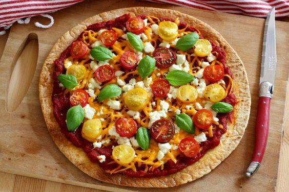 Tortilla façon pizza - Diaporamas recommandés
