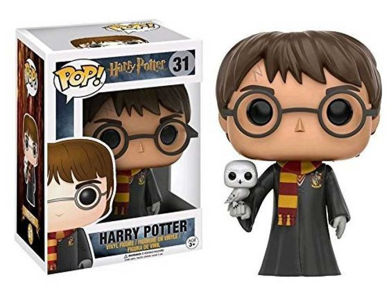 31 Harry Potter con Hedwig Funko Pop