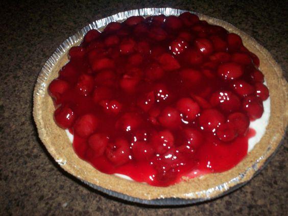 Cherry-O- Cream Pie