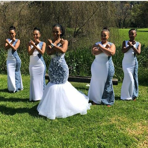South African Bridesmaids Dresses 2018 African Bridesmaids African Bridesmaid Dresses African Wedding Dress,Wedding Dresses For Older Plus Size Brides