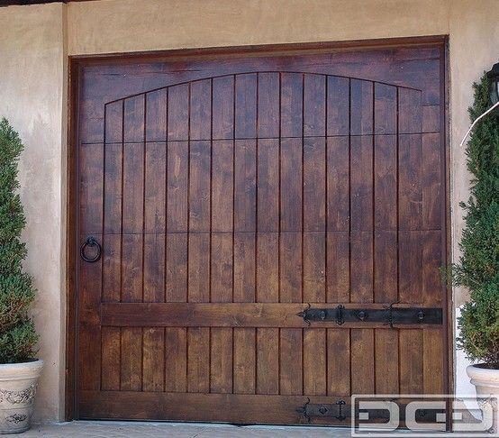 Rustic Alder Garage Door Garage Doors Pinterest Cars