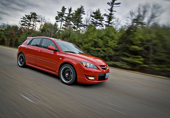 Mazdaspeed 3 in action