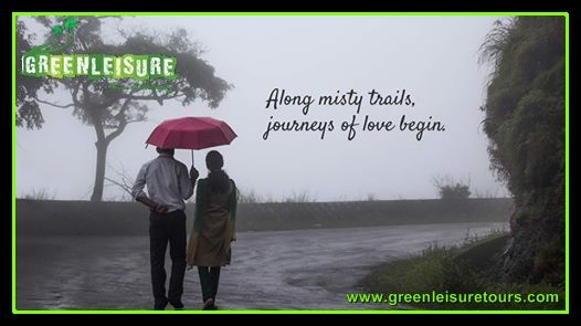 #Monsoon, the perfect #season for romance... Experience Monsoon in #Kerala   http://www.greenleisuretours.com/kerala/Seasons  Reach us GreenLeisure Tours & Holidays for any #Kerala #Tour #Packages www.greenleisuretours.com  Like us & Reach us https://www.facebook.com/GreenLeisureTours for more updates on #Kerala #Tourism #Leisure #Destinations #SiteSeeing #Travel #Honeymoon #Packages #Weekend #Adventure #Hideout —at Kerala.