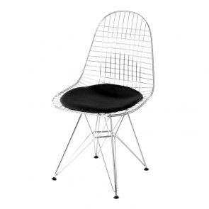 Eames DKR Wire Chair Schwarz