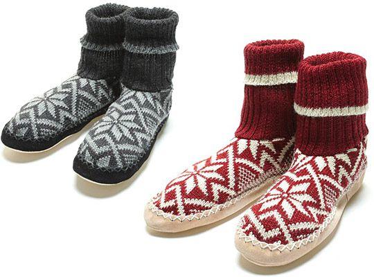 biolana Fair Isle Slippers | Fair isles, Socks and Winter