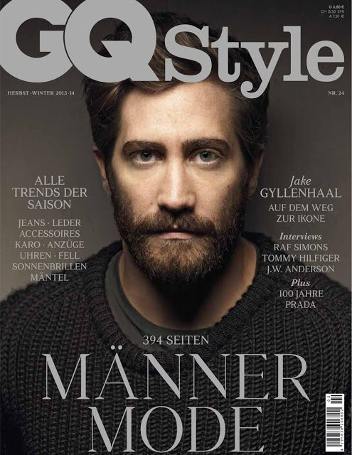 Male Fashion Trends: Jake Gyllenhaal para GQ Style Alemania Septiembre 2013