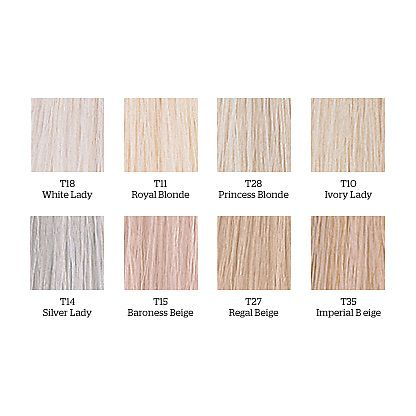 Wella Color Charm Toner Chart Icy Blonde Bitch