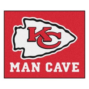 Kansas City Chiefs NFL Man Cave Tailgater Floor Mat (60in x 72in)