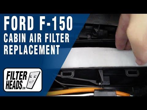 How To Replace Cabin Air Filter 2016 Ford F 150 Cabin Air Filter Cabin Filter Ford F150
