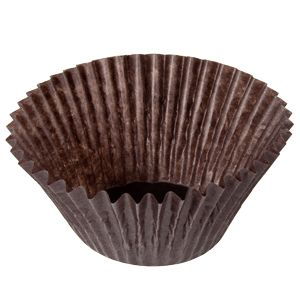 brown cupcake liners! 2 inch x 1 3/4 inch Glassine Baking / Candy Cups 500 / Pack