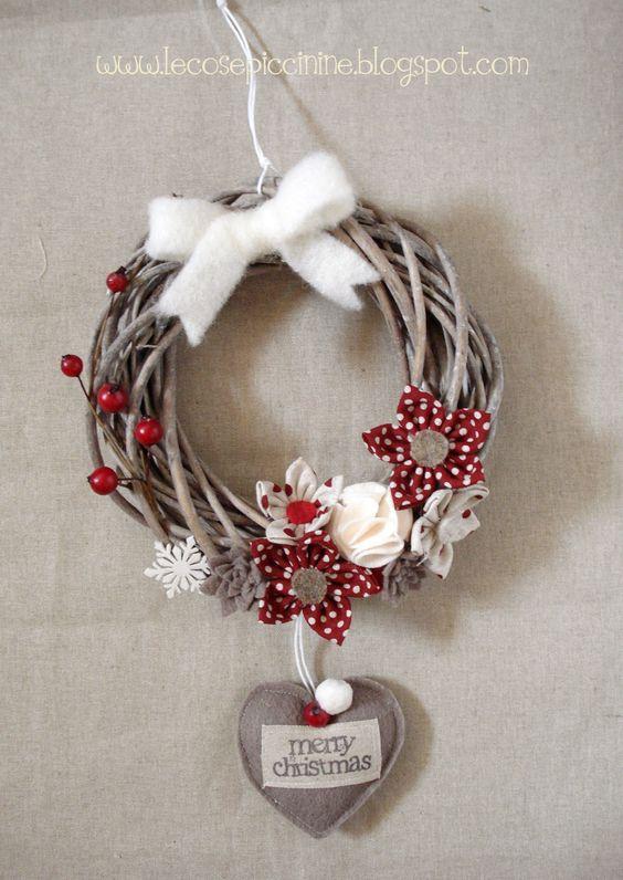 Le cose piccinine - Winter/Christmas wreath