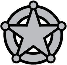 Police officer badge clip art police badge template for Police badge template for preschool