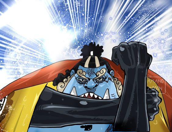 One Piece Chapter 890 Big Mom vs Jinbei HAKI COLOR by Amanomoon